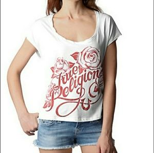 True Religion Rose T-shirt